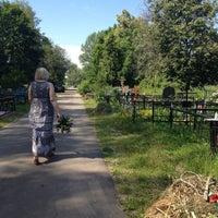 Photo taken at Старо-Каширское кладбище by Nadin K. on 6/23/2012