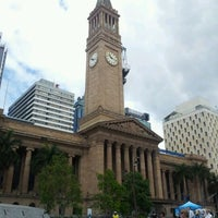 Photo taken at Brisbane City Hall by AA M. on 2/2/2012