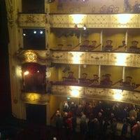 Photo taken at Svenska Teatern by Tarja M. on 4/20/2012