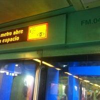 Photo taken at Metro Tepalcates (Línea A) by Ricardo Israel L. on 5/11/2012