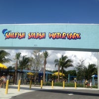 Photo taken at Sailfish Splash Waterpark by Juanita G. on 7/13/2012