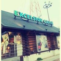 Photo taken at エクセルシオールカフェ 基山パーキングエリア下り店 by GATTACA on 4/16/2012