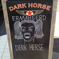 Photo taken at Dark Horse Espresso Bar by Travis S. on 9/2/2012