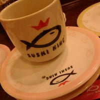 Photo taken at Sushi King by Valerie T. on 2/15/2012