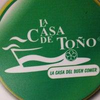 Foto tomada en La Casa de Toño por Ruben S. el 3/4/2012