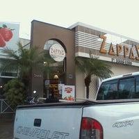 Photo taken at Zappa's Pães e Tentações by Cássio F. on 7/17/2012