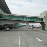 Photo taken at José Joaquín de Olmedo International Airport (GYE) by Adriana A. on 4/3/2012