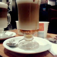 Photo taken at McCafé by Alan J. on 6/7/2012