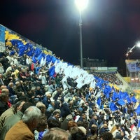 Photo taken at Stadio Ennio Tardini by Alessio B. on 3/31/2012