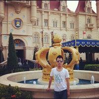 Photo taken at Shrek 4-D Adventure by Shane C. on 4/7/2012