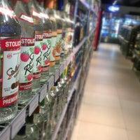 Photo taken at Bacchus Liquors by Juan Carlos D. on 6/7/2012