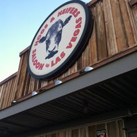 Photo taken at Hogs & Heifers by Theresa S. on 5/9/2012