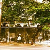 Photo taken at Rua Henrique Schaumann by Paula M. on 4/14/2012