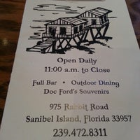 Photo taken at Doc Ford's Rum Bar & Grille by Karen L. on 9/5/2012