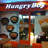 Photo taken at HungryBoy Japanese Donburi House by Xin L. on 5/15/2012