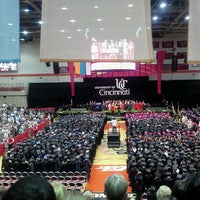 Photo taken at Fifth Third Arena | Myrl H Shoemaker Center by Olivia M. on 6/8/2012