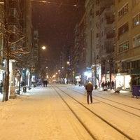 Photo taken at Doktorlar Caddesi by Eren C. on 2/17/2012