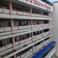 Photo taken at Nawaminthrachinuthit Satriwitthaya Phutthamonthon School by Sarun P. on 8/20/2012
