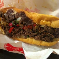 Photo taken at Ono's Philly Cheesesteak by Naoko M. on 7/25/2012