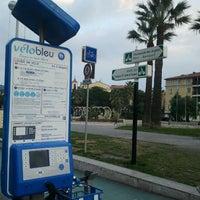 Photo taken at Vélo Bleu (Station No. 19) by Iarla B. on 3/23/2012