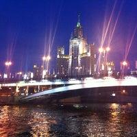 Photo taken at Bolshoy Ustyinsky Bridge by Николай on 8/16/2012