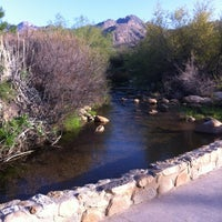 Photo taken at Sabino Canyon Recreation Area by Alan F. on 3/27/2012