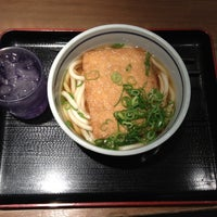Photo taken at 天王寺うどん 東口店 by Kousuke I. on 7/14/2012