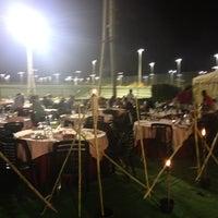Photo taken at Real Club de Polo Padel by Dasha B. on 7/23/2012