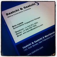 Photo taken at Saatchi & Saatchi S by Erin L. on 5/29/2012