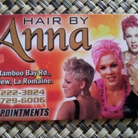Photo taken at Hair By Anna by Yasna P. on 3/15/2012