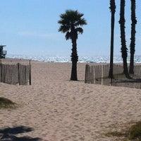 Photo taken at Santa Monica Beach Tower 26 by Peter J. on 3/14/2012