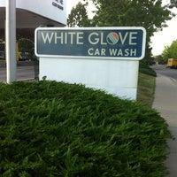 Photo taken at White Glove Car Wash by Jamie C. on 5/18/2012