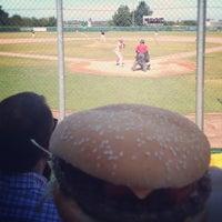Das Foto wurde bei Baseballfield Stuttgart Reds von Marc H. am 8/18/2012 aufgenommen