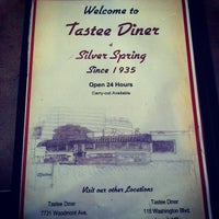 Photo taken at Tastee Diner by Brian C. on 4/8/2012