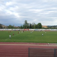 Photo taken at Centro Sportivo Comunale by Germano P. on 5/13/2012