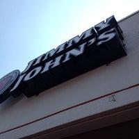 Photo taken at Jimmy John's by Ben W. on 8/9/2012