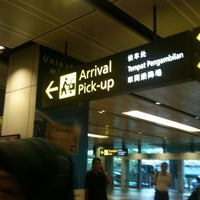 Photo taken at Terminal 1 Arrival Hall by Nurul Zarifah on 6/2/2012