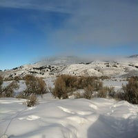 Photo taken at Slough Creek Camp Ground by Rita H. on 2/19/2012
