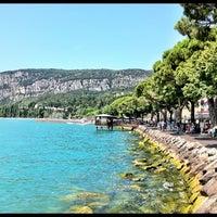 Photo taken at Porto di Garda by Fifinka on 8/13/2012