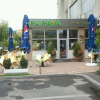 Photo taken at Papaya by Valentin M. on 5/17/2012