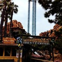 Photo taken at Timber Mountain Log Ride by LaLa C. on 3/31/2012