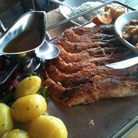 Photo taken at Restaurante Lago da Sereia by Silvia F. on 7/12/2012