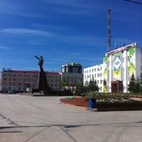 Photo taken at Площадь Ленина by Alexander Z. on 7/8/2012