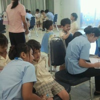 Photo taken at Saiaksorn School by Smilely M. on 8/21/2012