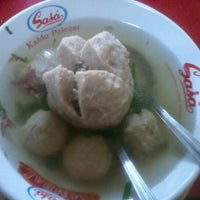 Photo taken at Bakso Anton by Muhammad S. on 6/10/2012