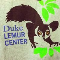 Photo taken at Duke Lemur Center by Chandler K. on 8/5/2012