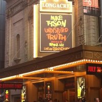 Photo taken at Longacre Theatre by Lori E. on 8/2/2012