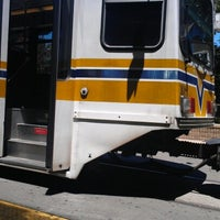 Photo taken at SACRT Light Rail 16th St Station by Eric W. on 7/2/2012