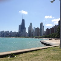 Photo taken at North Avenue Beach by Ari N. on 7/20/2012
