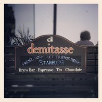 Photo taken at Cafe Demitasse by Brittany D. on 8/26/2012